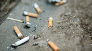 Most of the fines were for people dropping cigarette butts