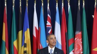 Барак Обама в ООН