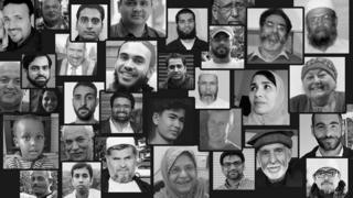 Victims of mosque attacks