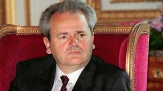 युगोस्लाव फेडरेशन के राष्ट्रपति स्लोबोदान मिलोसेविच