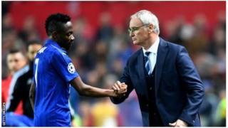 Onye kpọbatara Ah0med Musa na Leicester bụ onyeisi Claudio Ranieri