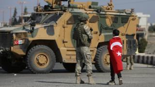 турецкий патруль