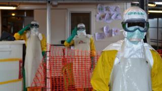 Àwọn dókítà tó ń wo àìsàn Ebola
