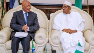 Xenophobia: South Africa President Ramaphosa don apologise to Nigeria President Buhari