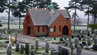Hawarden cemetery chapel