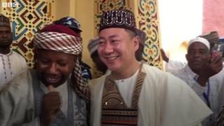 Un Chinois intronisé chef traditionnel au Nigéria