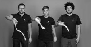 Fundadores Karim Pichara, Matías Muchnick y Pablo Zamora