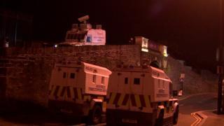 PSNI riot trucks