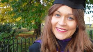 Bethany Farrell, pictured at her graduation from Southampton University.