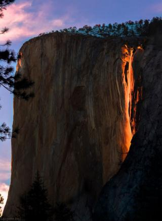 Firefall in Yosemite