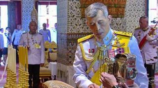 ထိုင်းဘုရင် နန်းတက်ပွဲ