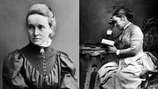 Millicent Fawcett and Elizabeth Garrett Anderson
