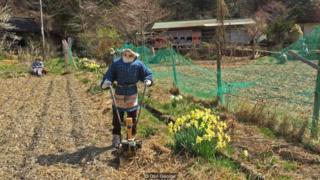 Trong khi lái xe qua trung tâm đảo Shikoku, Nhật Bản, nhà văn Don George đã gặp một ngôi làng có nhiều bù nhìn.