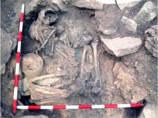 Bronze Age male and female burials