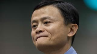 This file photo taken on February 2, 2015 shows Chinese billionaire and Alibaba founder Jack Ma attending a forum in Hong Kong