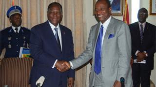 Les soldats guinéens se sont ensuite retirés de la localité fin février 2013, après des négociations.