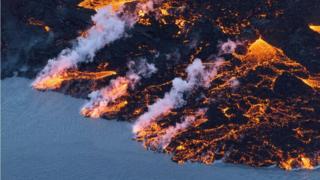 Нагретая лавой до сверхкритического состояния вода может быть источником энергии