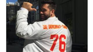 Kansas City Chiefs lineman Laurent Duvernay-Tardif