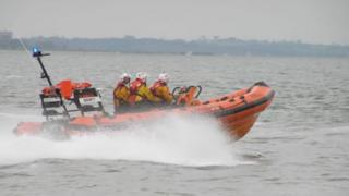 RNLI West Mersea lifeboat