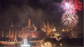 थायलंडच्या राजाचा 'शाही' अंतिम संस्कार