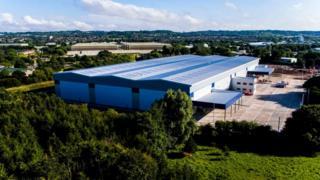 New logistics centre in Donnington
