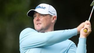 Jarrod Lyle playing at the 2016 Australian PGA Championship