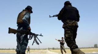 กองกำลังอัฟกานิสถานซึ่งสนับสนุนโดยสหรัฐฯ