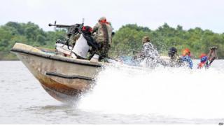 Militants in the Niger Delta