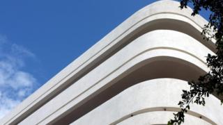 Edificio de la Ciudad Blanca en Tel Aviv