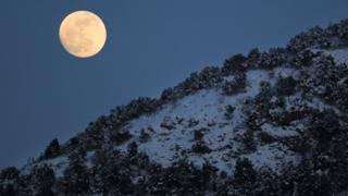 Luna Llena de Nieve