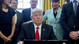 ABD Başkanı Donald Trump, göreve geldiği 20 Ocak tarihinden beri çok sayıda kararnameye imza attı.