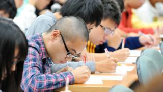 台灣的高中生