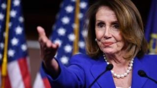 Nancy Pelosi is House of Representatives Speaker