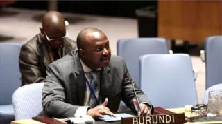Ambasaderi Albert Shingiro uhagarariye u Burundi muri ONU