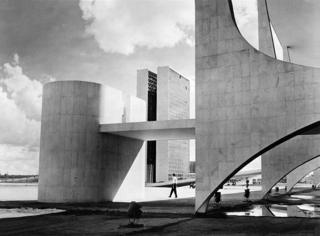 The parliament (Congresso Nacional) Brasilia, 1961