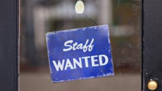 Staff wanted sign