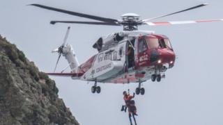 Trebarwith Strand Rescue