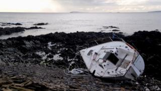 The boat in Orkney