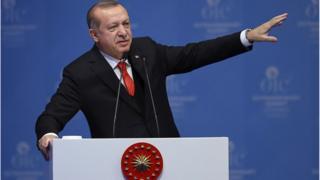 رجب طیب اردوغان، رئیس جمهور ترکیه در این نشست بیتالمقدس را خط قرمز کشورش خوانده است