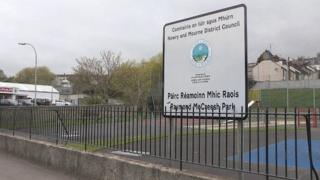 The playground was first named after Raymond McCreesh in 2001
