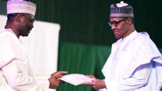 Shugaban INEC da Buhari