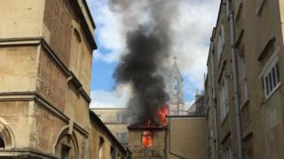 Bath flat fire
