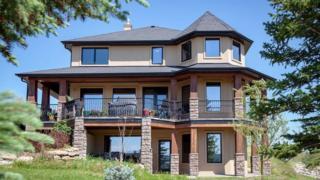 The Millarville, Alberta home
