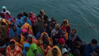 شهر صبرانه پس از سقوط معمر قذافی، رهبر سابق لیبی در سال ۲۰۱۱ میلادی تبدیل به مرکزی برای قاچاق انسان شده است