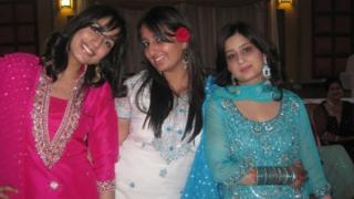 Sabina with her sisters