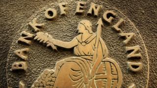 Bank of England sign