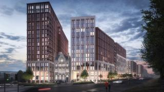 Artist's impression of the Great George Street Project