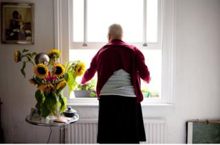 As her mobility declines Mum stays in her room more and more. Her windowsill becomes a substitute for the garden.
