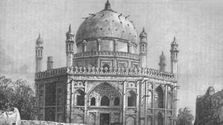 अहमद शाह दुर्रानी के मकबरे की तस्वीर