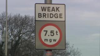 Winterstoke Road bridge in Weston-super-Mare